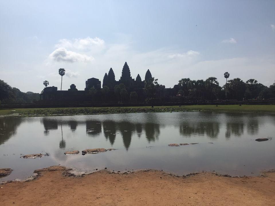 第1回カンボジアスタディツアー 3日目①<br>アンコールワット遺跡群