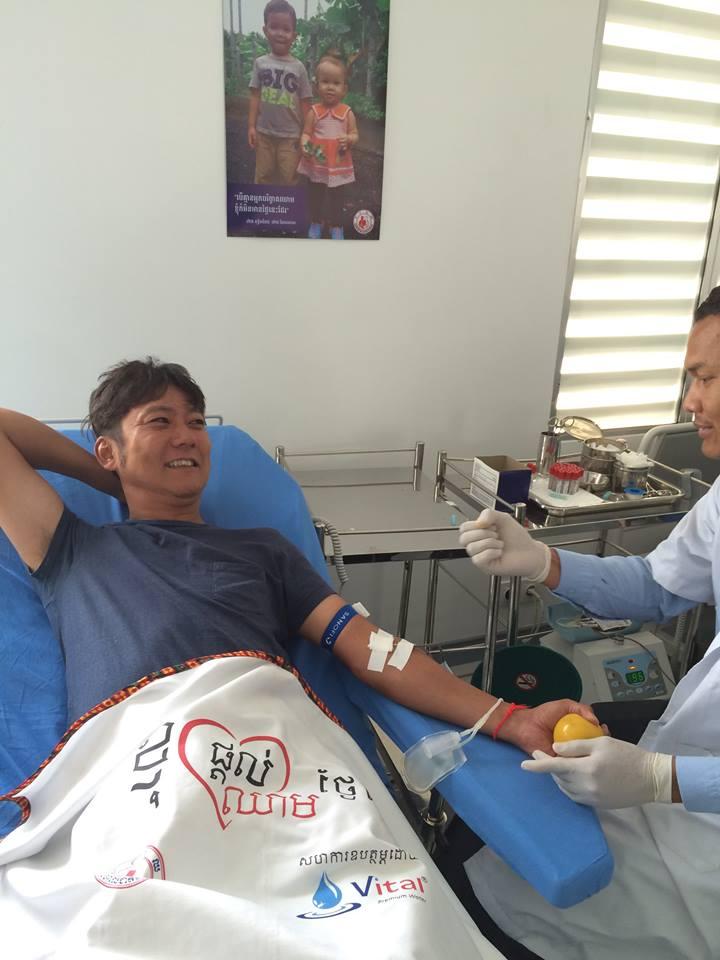第1回カンボジアスタディツアー 4日目①献血