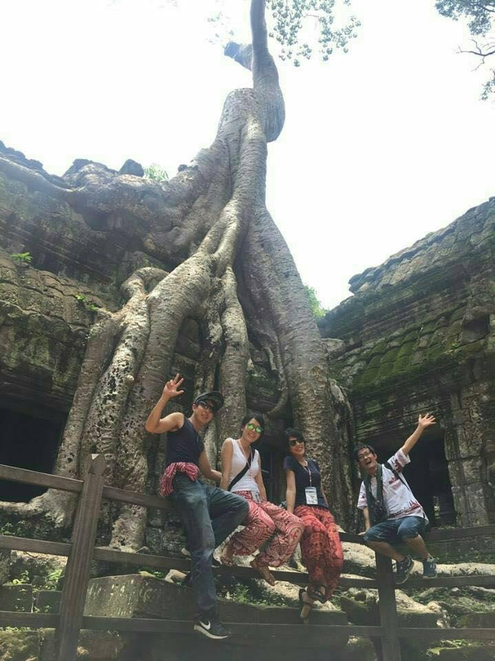 第3回カンボジアスタディツアー参加者の感想近畿大学薬学部 6回生 植野春奈さん
