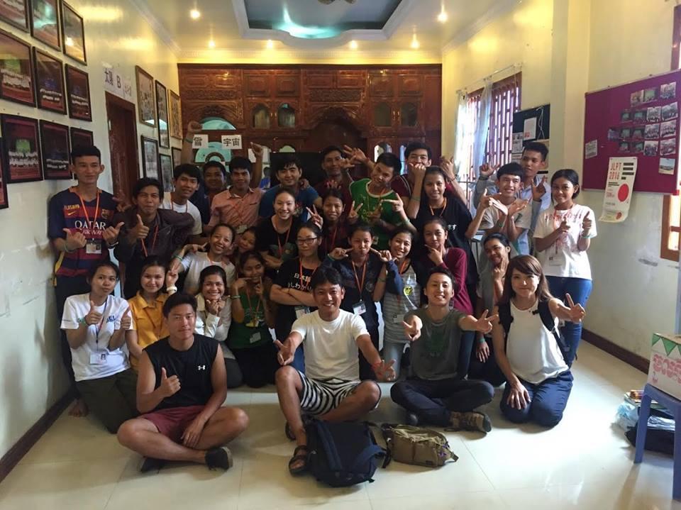 第1回カンボジアスタディツアー 5日目②<br>日本語学校訪問