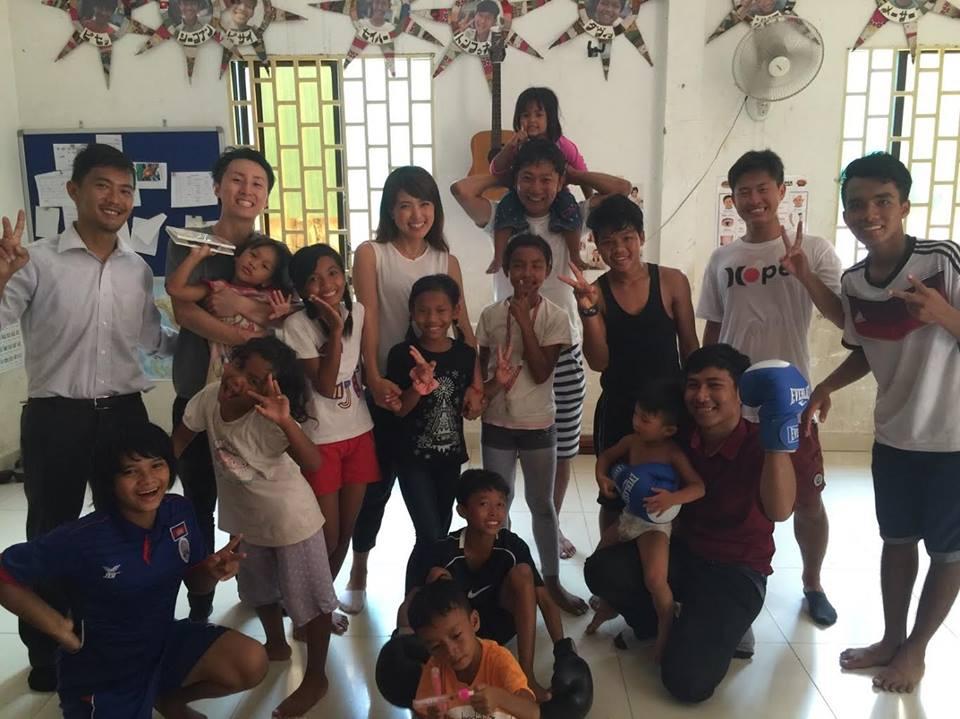 第1回カンボジアスタディツアー 5日目①<br>孤児院を訪問