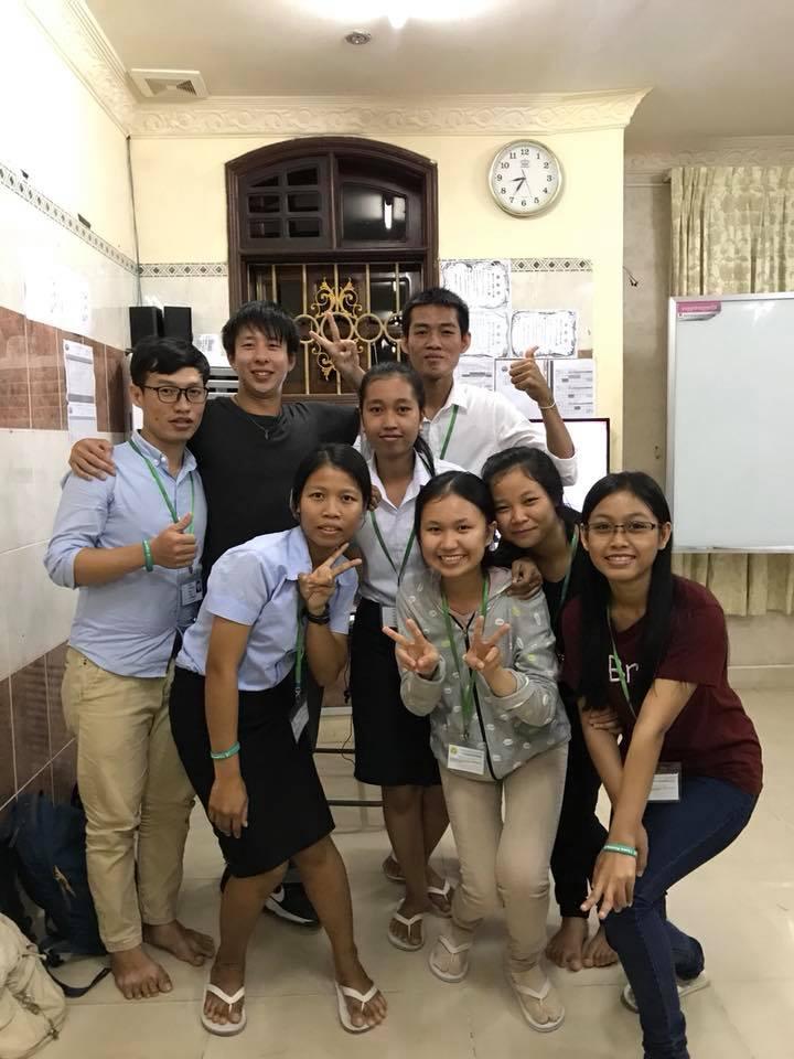 第3回カンボジアスタディツアー参加者の感想神戸学院大学 5回生 柏原一貴さん